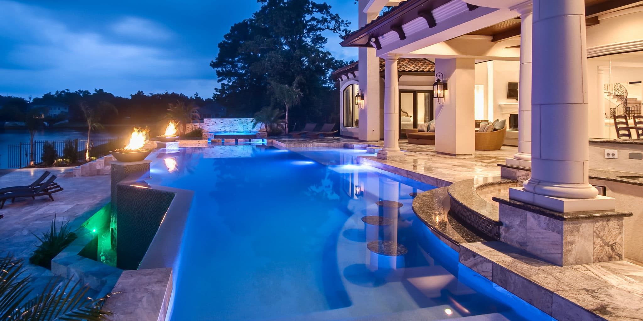 Greater Houston Luxury Pool and Outdoor Living Designer